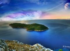 Fonds d'écran Nature Dream Island