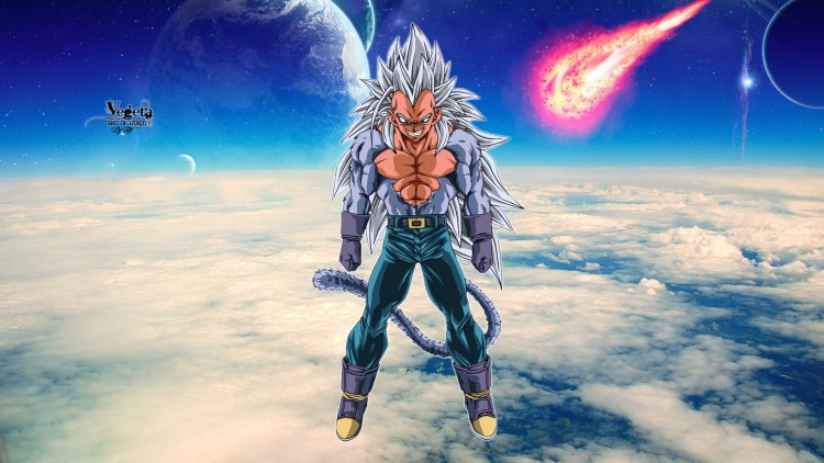 Wallpapers Manga Dragon Ball Z Vegeta, end of world