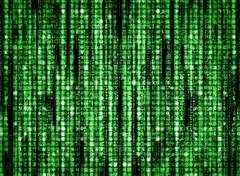 Wallpapers Movies Pluie de données