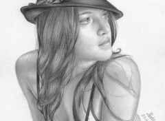 Wallpapers Art - Pencil Michelle Rodriguez