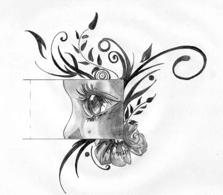 Wallpapers Art - Pencil Eyes Innocent'Eyes