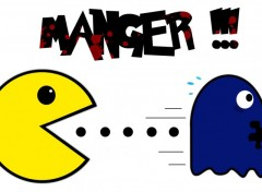 Wallpapers Video Games Pacman a faim