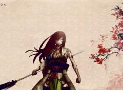 Wallpapers Manga la lame des fleurs