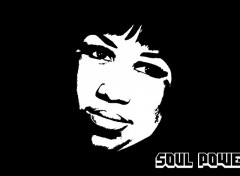 Wallpapers Music Soul Power - Aretha Franklin