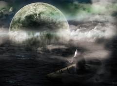 Fonds d'écran Fantasy et Science Fiction Le voyage dans la brume