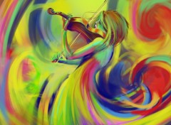 Wallpapers Digital Art Musical colors
