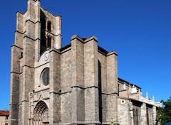 Fonds d'écran Constructions et architecture Collegiale Notre-Dame d Esperance a Montbrison ;Loire 42
