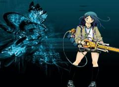 Fonds d'écran Manga air gear blue