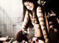 Wallpapers Digital Art Lemurian Girl