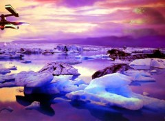 Wallpapers Fantasy and Science Fiction Plateau de glace
