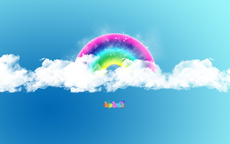 Wallpapers Brands - Advertising Websites - Hebus Hébus... L'arc en ciel des wall's