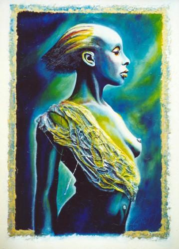 Fonds d'écran Art - Peinture Femmes - Féminité