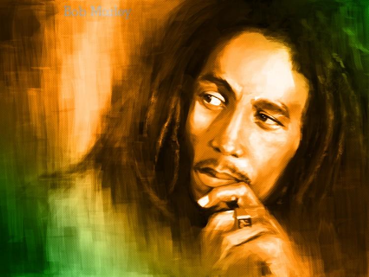 Fonds d'écran Musique Bob Marley Bob marley paint