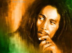 Wallpapers Music Bob marley paint