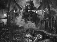Fonds d'écran Musique Avenged Sevenfold nightmare 2010