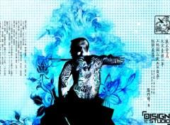 Wallpapers Digital Art  feu bleu