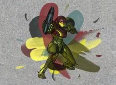 Wallpapers Video Games Samus Painting