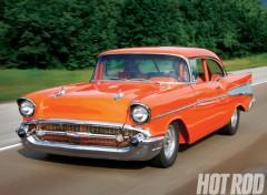 Wallpapers Cars chevrolet bel air (1957)