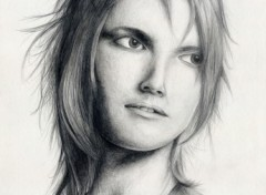 Wallpapers Art - Pencil Portrait...