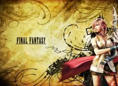 Fonds d'écran Jeux Vidéo lightning Final Fantasy XIII