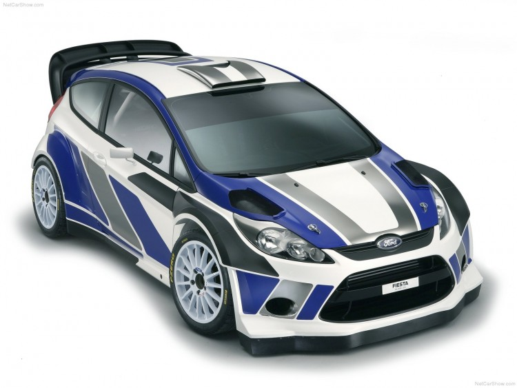 Fonds d'écran Voitures Ford Ford Fiesta RS WRC