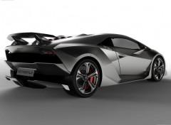 Fonds d'écran Voitures Lamborghini Sesto Elemento Concept
