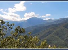 Fonds d'écran Nature Chaine du Canigou (Pyrénées-Orientales)