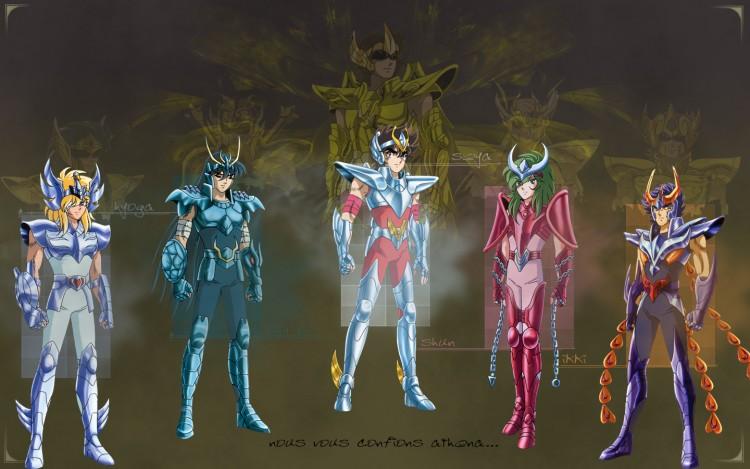 Fonds d'écran Manga Saint Seiya - Les Chevaliers du Zodiaque Saint seiya