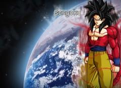 Fonds d'écran Manga Sangoku