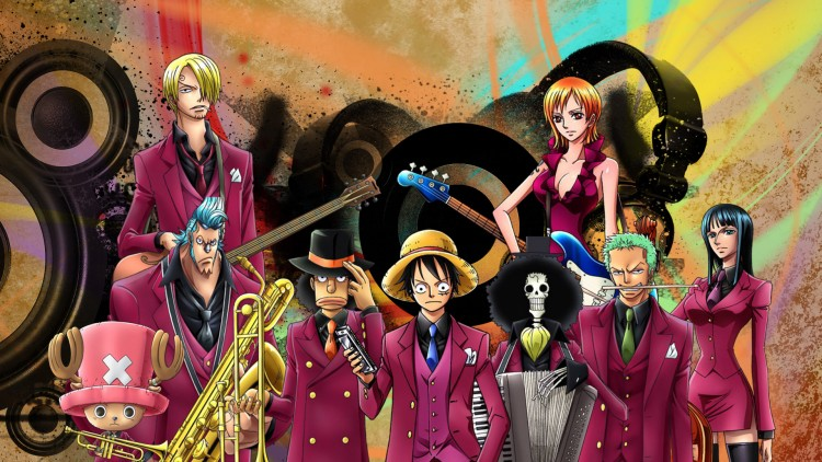 Wallpapers Manga One Piece one piece musical