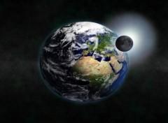 Fonds d'écran Art - Numérique earth
