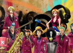 Fonds d'écran Manga one piece musical