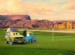 Wallpapers Cartoons Golf Time