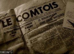 Wallpapers Objects journal le comtois 1945