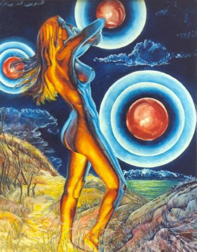 Fonds d'écran Art - Peinture Femmes - Féminité HECATE