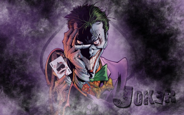 Fonds d'écran Comics et BDs Batman Joker
