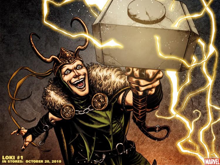 Fonds d'écran Comics et BDs Thor loki