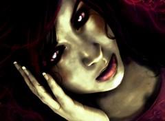 Wallpapers Digital Art Zombie Girl