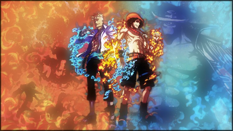 Wallpapers Manga One Piece One Piece Burn