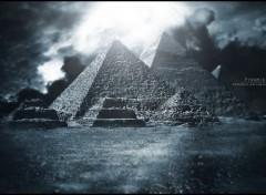 Wallpapers Digital Art Pyramid