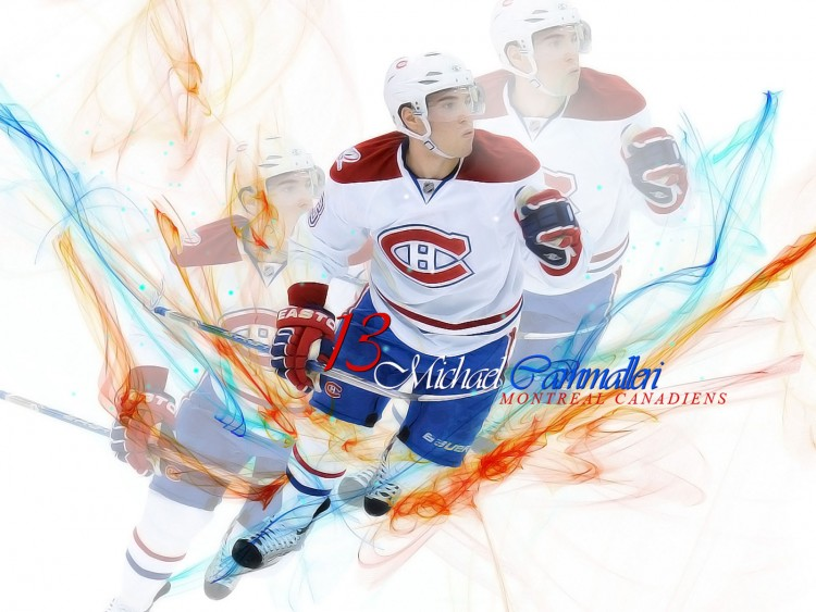 Wallpapers Sports - Leisures Hockey Mike Cammalleri (Canadiens de Montréal)