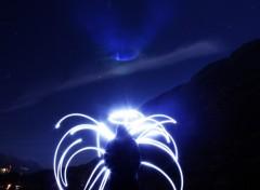 Fonds d'écran Art - Numérique Ange paint lighting