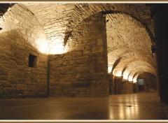Fonds d'écran Voyages : Europe Tournai (Belgique) - Crypte de l'Hôtel de Ville