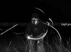 Fonds d'écran Art - Numérique Graffeur de nuit