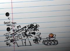 Wallpapers Comics Calvin's scribbles