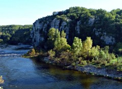 Wallpapers Nature L'Ardèche près de Balazuc