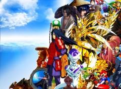 Fonds d'écran Manga Mes Heros