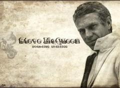 Fonds d'écran Célébrités Homme Steve McQueen Version2