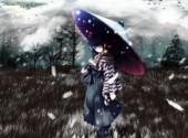 Fonds d'écran Manga snow white and feathers