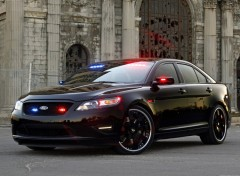 Fonds d'écran Voitures Ford Stealth Police Interceptor Concept